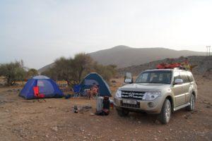 Oman Camping