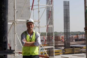 Ruan on Construction Site