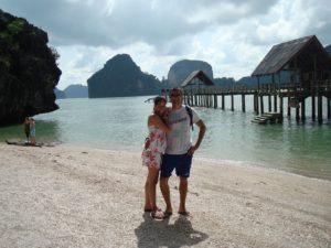 Ruan and Mitzi in Thailand